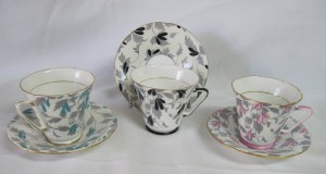 art deco tea cups