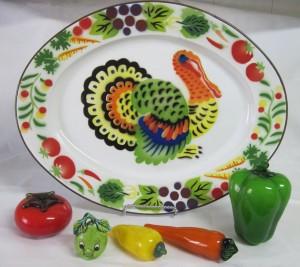 tin turkey platter