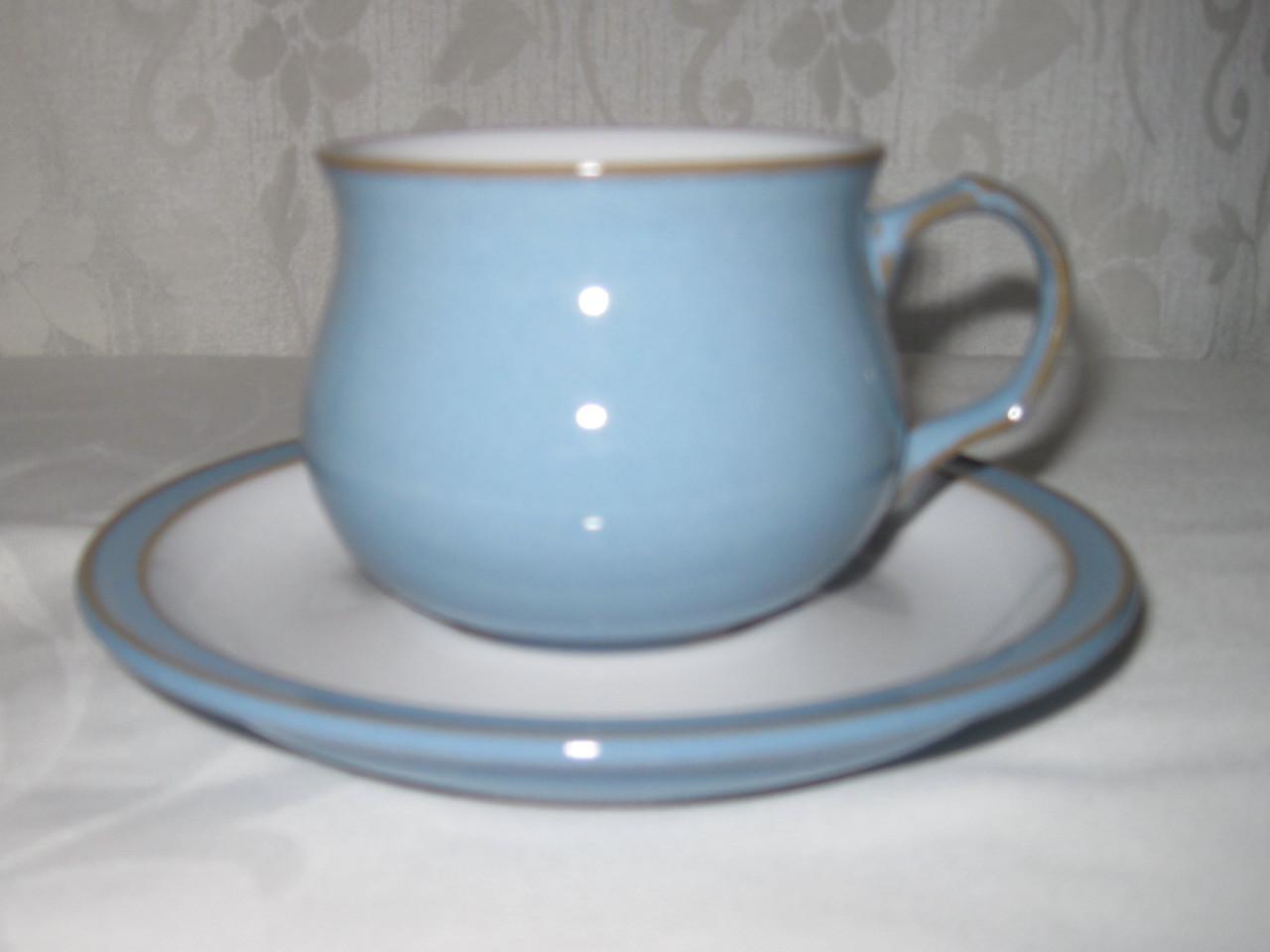 Denby Colonial Blue Dinnerware | fabfindsblog