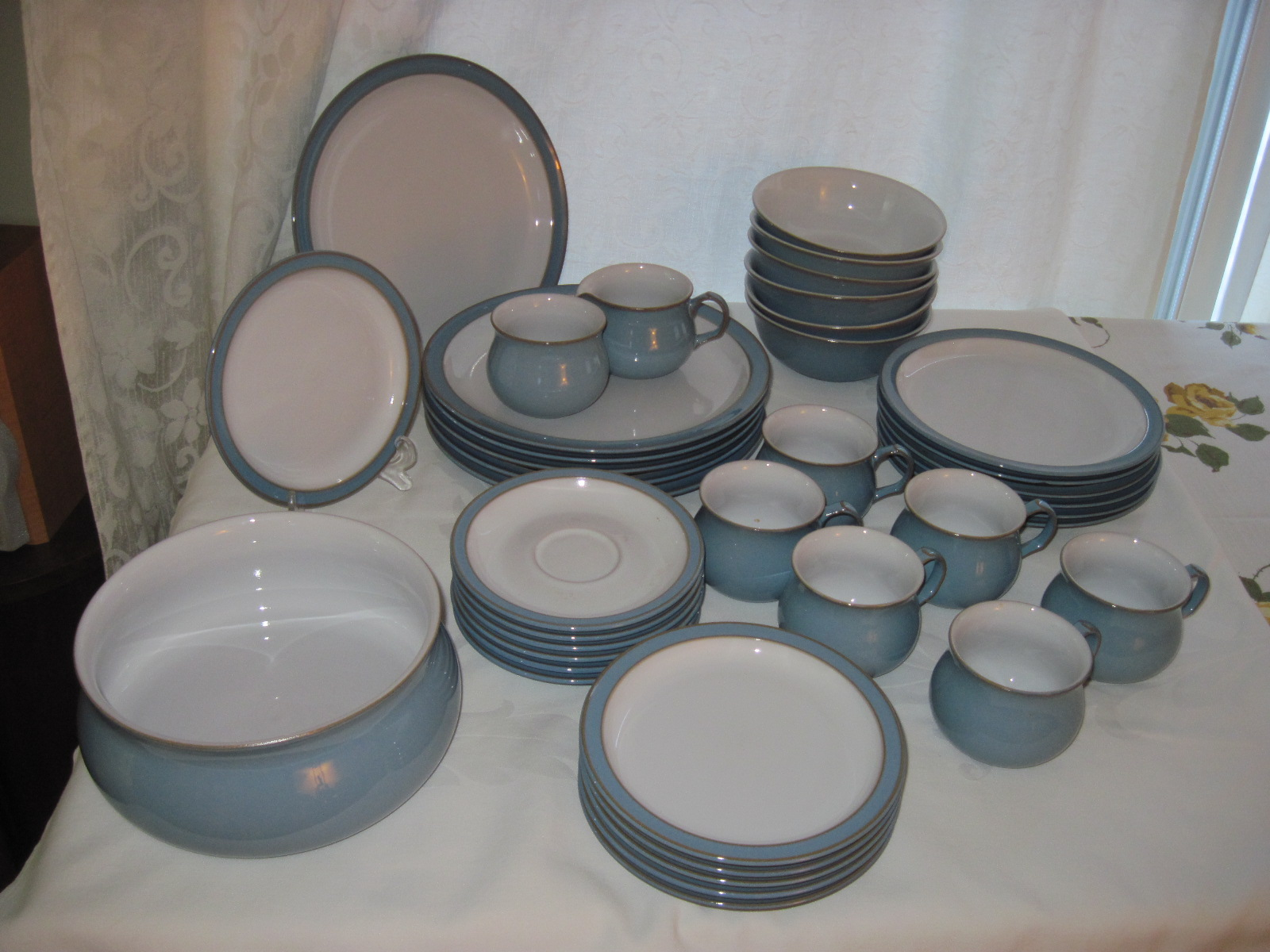 Denby Colonial Blue Dinnerware Fabfindsblog
