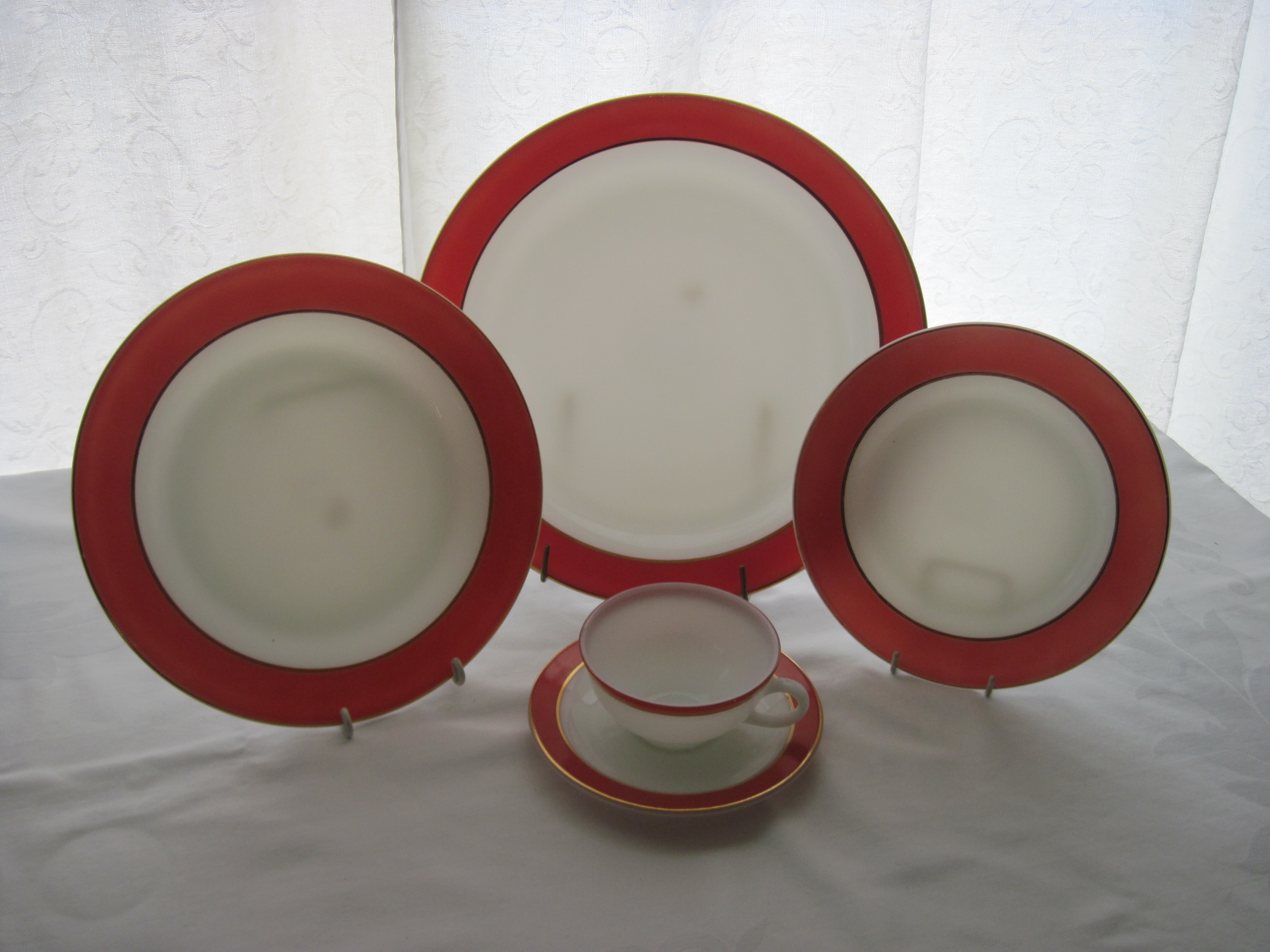 IMG_4712 & Pyrex Flamingo Dinnerware 1950u0027s | fabfindsblog