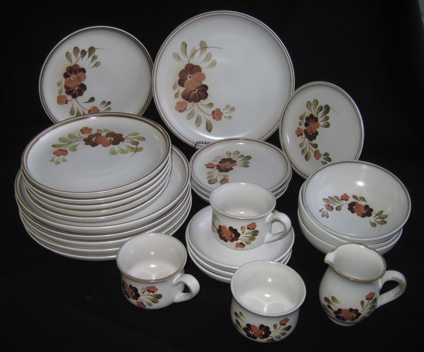 Denby Serenade & Denby Serenade Dish Set ca. 1970u0027s made in England | fabfindsblog