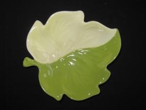 carlton ware leaf