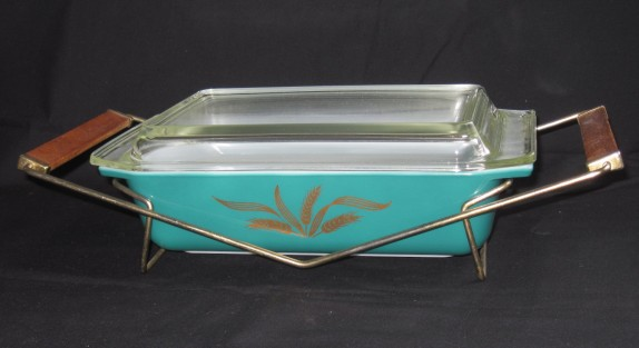 pyrex turquoise