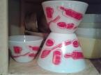 Rare Fire King Kitchen Aids Bowls