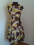 1960's Hand Made Party Dress